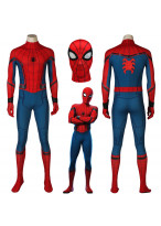 Spiderman Homecoming Peter Parker Spider-Man Cosplay Costume 3D Printed