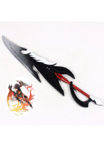 Elsword Reckless Fist Raven Knife Sword Cosplay Prop