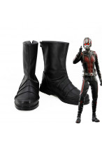Ant-Man and the Wasp Ant-Man Scott Lang Leather Cosplay Boots Shoes