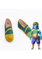 The Legend of Zelda Breath of the Wild Female Lin Gerudo Cosplay Shoes