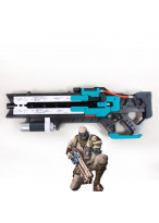 OW Overwatch Soldier 76 Jack Morrison Gun Bone Cosplay Prop