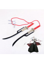 Bleach Jushiro Ukitake Juushirou Blades Double Sword Cosplay Prop