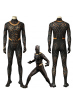 Black Panther Erik Stevens Killmonger Cosplay Costume 3D Printed