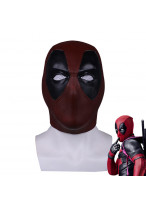 Deadpool Mask Latex Helmet Cosplay Props Halloween Prop
