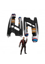 2Pcs Avengers Infinity War Star Lord Gun Weapon Cosplay Props Halloween Props