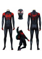 Spider-Man: Into the Spider-Verse Miles Morales Cosplay Costume 3D Printed