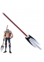 ONE PIECE Charlotte Katakuri Lance Weapon Cosplay Prop