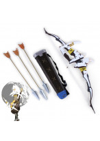 Overwatch OW Shimada Hanzo Okami Bow Arrow and Quiver Set Cosplay Prop