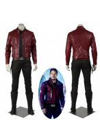 New Guardians of the Galaxy Peter Quill Star-Lord Cosplay Costume