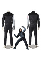 Captain America Civil War Bucky Barnes Winter Soldier Cosplay Costume