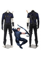 New Captain America Civil War Clint Barton Hawkeye Cosplay Costume