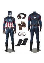 New Captain America 3 Civil War Steven Rogers Cosplay Costume