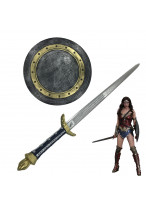 The Justice League Wonder Woman Sword Shield Cosplay Props