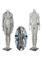New Legends of Tomorrow Sara Lance White Canary Cosplay Costume