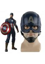 Captain America Helmet Avengers Ultron Steve Rogers Cosplay Mask