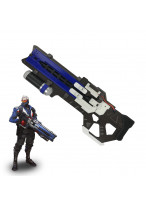 Overwatch Soldier 76 Weapon Pistol Cosplay Props Accessories PVC Gun