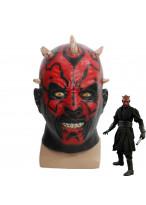 Star Wars Darth Maul Latex Mask Cosplay Prop