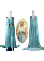 New Game Of Thrones Daenerys Targaryen Cosplay Costume
