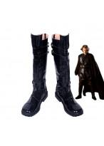 Star Wars Anakin Skywalke Black Boots Cosplay Shoes