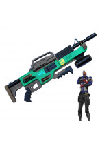 OW Overwatch Soldier 76 Green Gun Weapon Cosplay Prop