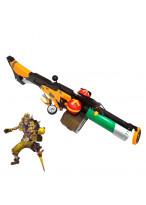 Overwatch OW Junkrat Frag Launcher Weapon PVC Cosplay Prop