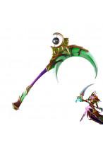 WOW World of Warcraft  Elune Scythe Cosplay Prop