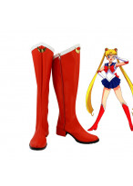 Sailor Moon Serena Cosplay Boots Shoes Custom Made