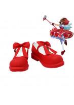 Cardcaptor Sakura Kinomoto Sakura Cosplay Boots Red Shoes