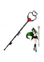 Sailor Moon Pluto Meiou Setsuna WAND PVC Cosplay Prop