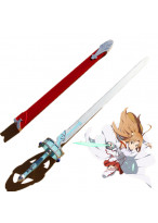 Sword Art Online SAO Asuna Yuuki Sword & Sheath PVC Cosplay Prop