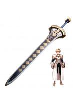 """Fate Prototype Saber Excalibur Sword Pvc Cosplay Prop 39"""" Handmade"""