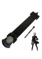New NieR Automata YoRHa No 2 Type B 2B Beastlord Big Sword Cosplay Prop
