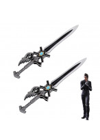 Final Fantasy XV FF15 Ignis Scientia's Double Sword Weapon PVC Cosplay Prop 24""