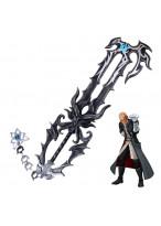 Kingdom Hearts Master Xehanort's Keyblade PVC Weapon Cosplay Prop