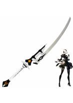 New NieR Automata YoRHa No 2 Type B Virtuous Treaty Sword Cosplay Prop