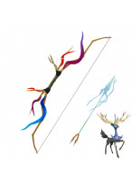 Pocket Monster Pokemon Xerneas Bow and Arrow Cosplay Prop