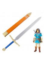 The Legend of Zelda:Breath of the Wild Link Sword With Sheath Cosplay Prop