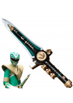 Mighty Morphin Power Rangers Green Ranger Sword Weapon PVC Cosplay Prop