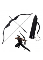The Avengers Hawkeye Bow Arrow Arrow Holder Cosplay Props PVC 53""