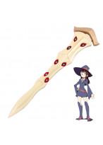 Little Witch Academia Atsuko Kagari Akko Wand Cosplay Prop