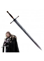 Game of Thrones Ned Eddard Stark Ice Long Sword Cosplay Prop
