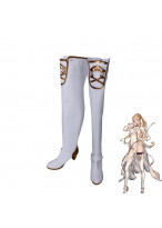 NieR Automata Commander White Boots Cosplay Shoes