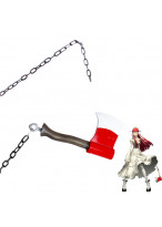 Shin Megami Tensei Persona 3 Chidori Yoshino Hatchet and Chain Cosplay Prop