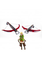Hyrule Warriors The Legend of Zelda Linkle Crossbow and Arrow Cosplay Prop