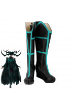 Thor Ragnarok Trailer Hela Black Boots Cosplay Shoes Customized Size