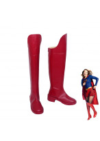 Supergirl Kara Danvers Kara Zor El Red Boots Cosplay Shoes