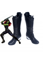 Guardians of the Galaxy Gamora Black Boots Cosplay Shoes