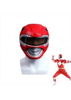 NEW Power Rangers Red Mask Red Ranger Helmet Cosplay Prop