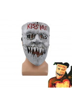 The Purge Election Year Mask Kiss Me Helmet Cosplay Prop