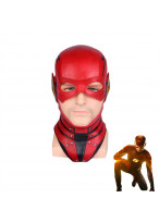 2017 Justice League The Flash Barry Allen Helmet Mask Cosplay Prop